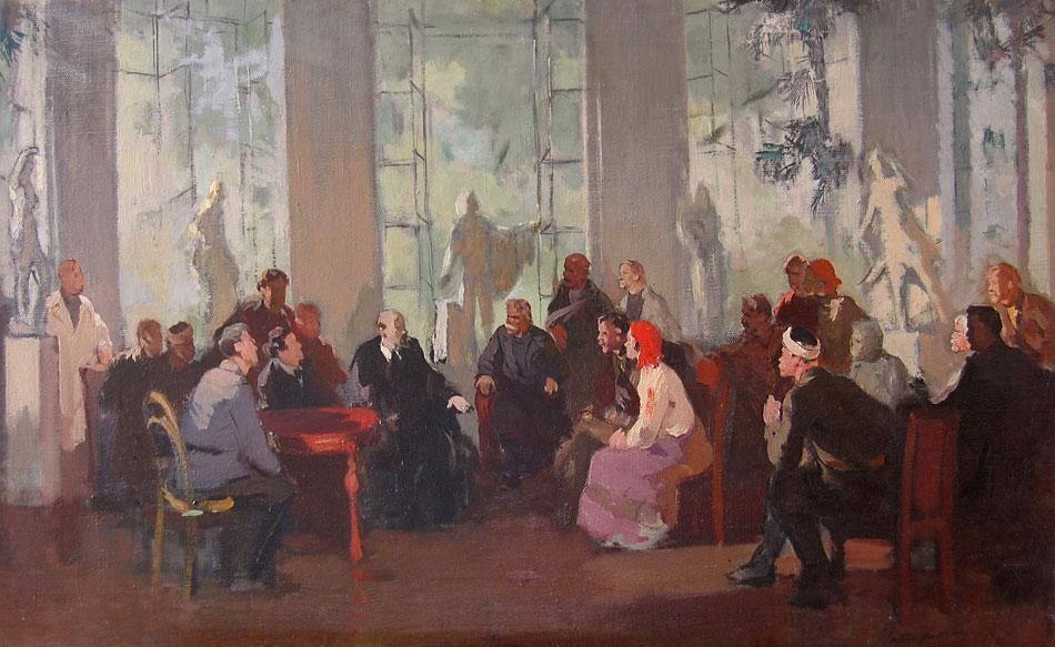 советский художник ещенко н н нашу